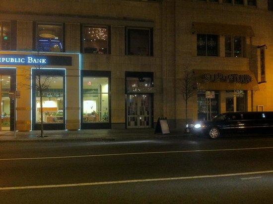 L'Espalier : Il ristorante dalla strada