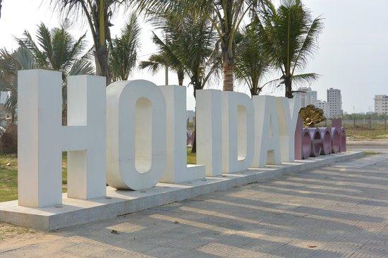 Holiday Beach Danang Hotel & Resort: Big Stunning Logo