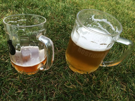Beer Prague - walking brewery tours: Beer Garden