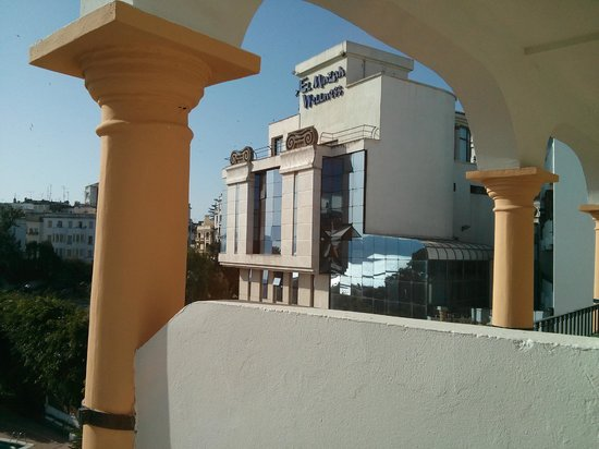 El Minzah Hotel: View of the hotel