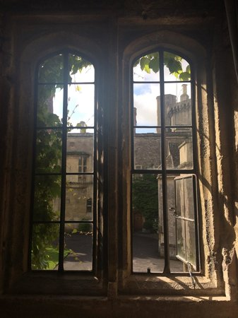 Thornbury Castle: The view from our room