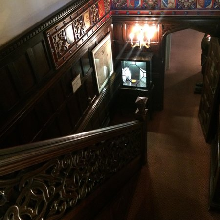 Thornbury Castle: Main stairs