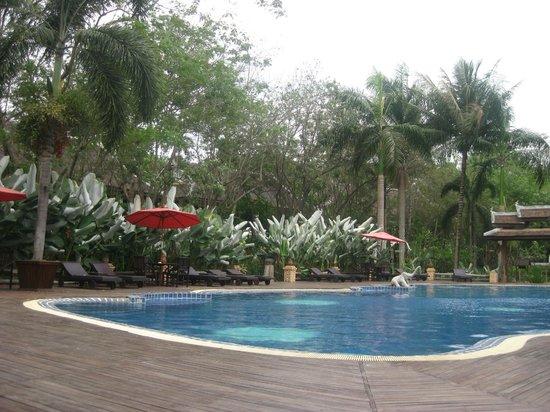Villa Santi Hotel: Hotel Spa pool