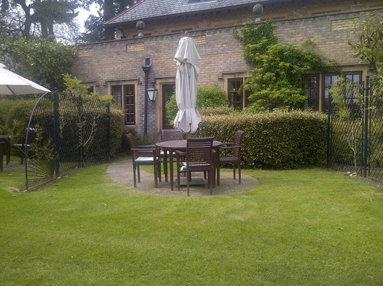 Pennyhill Park, an Exclusive Hotel & Spa: Room's private patio