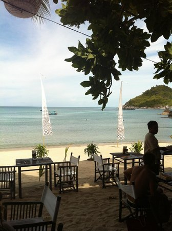Buri Rasa Koh Phangan : view from the restaurant
