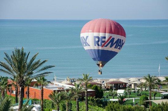 Limak Atlantis Deluxe Hotel & Resort: Start eines Heizluftballons