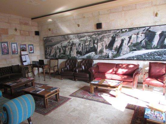 Cappadocia Cave Resort & Spa : フロント