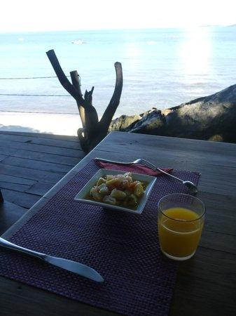 Nosy Komba Lodge: Petit déjeuner