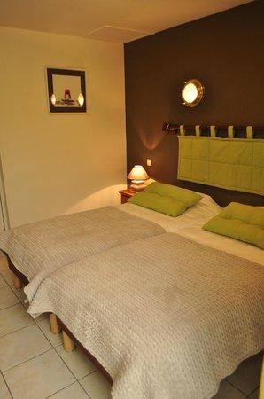 Hôtel La Rosière : chambre 2 lits