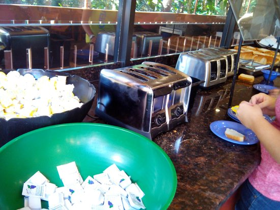 Clarion Inn Lake Buena Vista: el desayuno en clarion es pesimo!