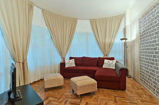 Soggiorno appartamento Carpe Diem - Picture of Residenza Pamphili ...