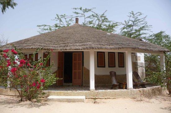 Le Bazouk du saloum : Mon bungalow