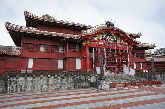 Shurijo Castle: 外観