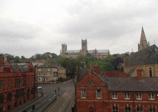 Premier Inn Lincoln City Centre Hotel: View from room 340
