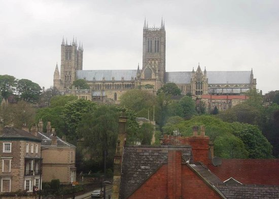 Premier Inn Lincoln City Centre Hotel: and a bit of zoom