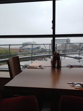 Premier Inn Hull City Centre Hotel: breakfast on a dreary day