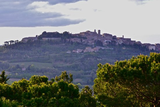 Hotel Panoramic: view of montepulciano from hotel