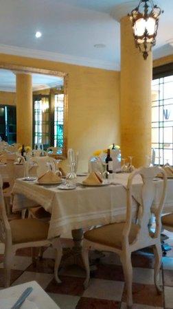 Hotel de la Opera: Restaurante térreo