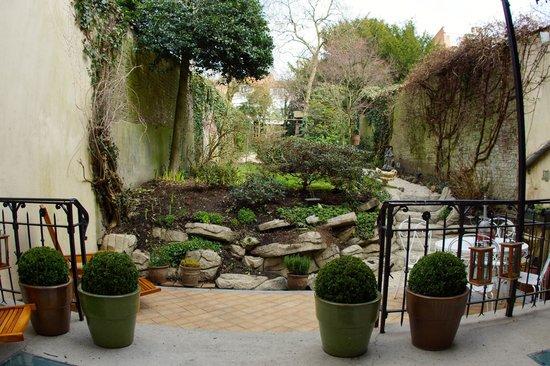 Villa Leopoldine : Jardin