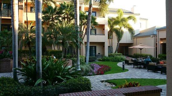"Courtyard West Palm Beach: The ""Courtyard"""