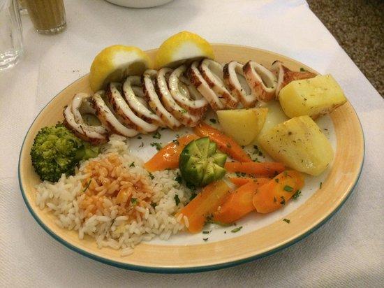 Nikolas: Calamari dish.  Great taste!
