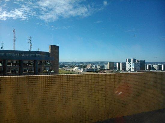 Kubitschek Plaza Hotel: vista da cobertura