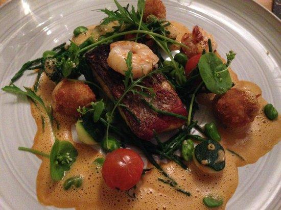 Stoke Mill Contemporary Fine Dining : Sea Bass