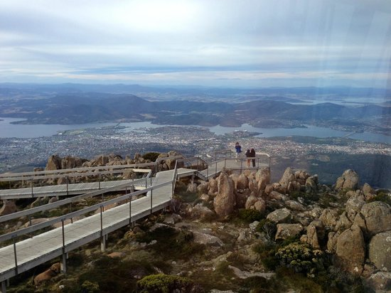 Mount Wellington: from the shelter