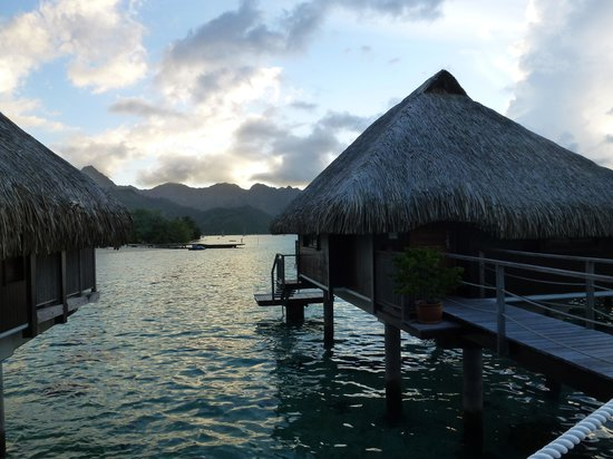 Hilton Moorea Lagoon Resort & Spa: Unobstructed view from our Bungalow