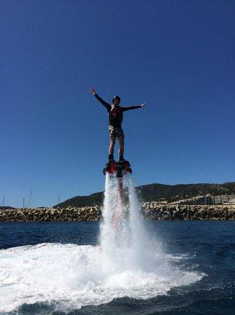 Flyboard Mallorca: Yeah!