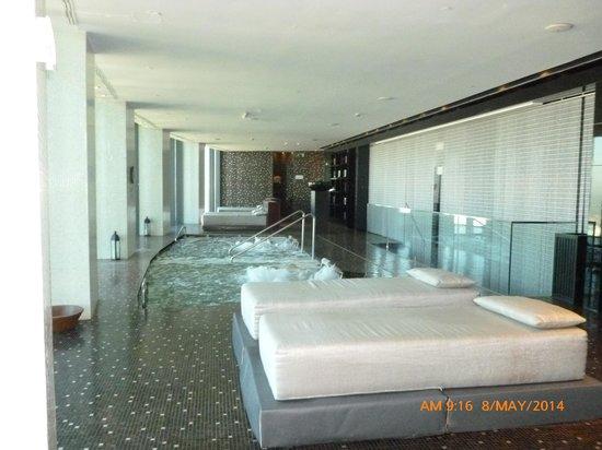 Anssora Spa & Health Club: Camas de relax.
