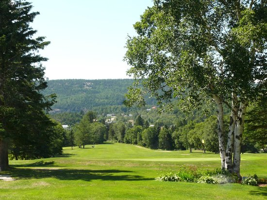 Tadoussac Golf Club : The third hole