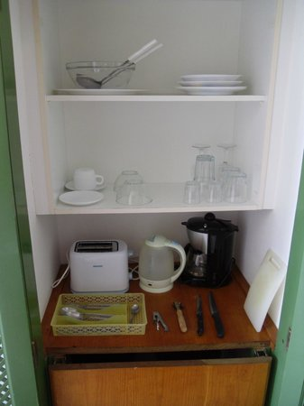 Apartamentos Panorama: KItchenette with equipment