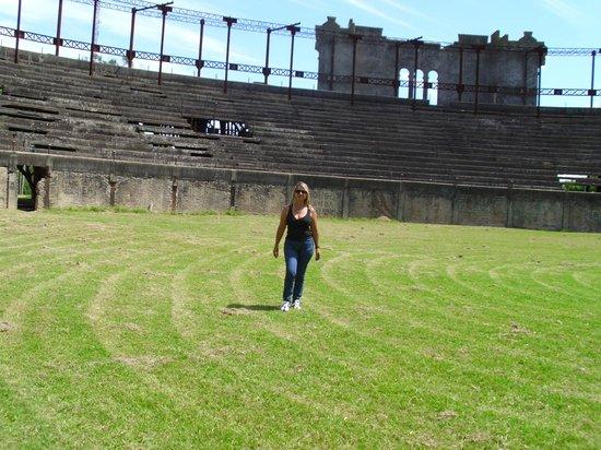 Plaza de Toros: yo en el centro