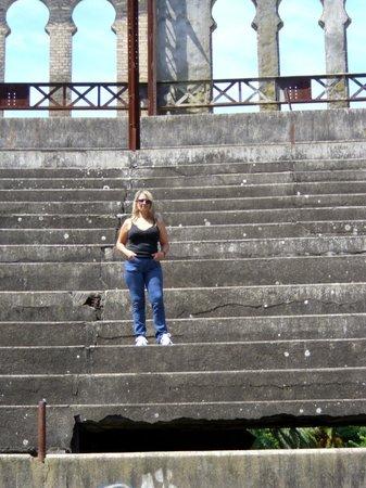 Plaza de Toros: yo en las gradas