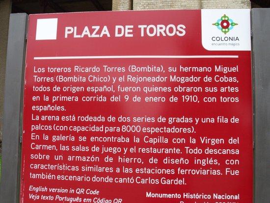 Plaza de Toros: cartel