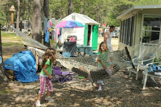Yankeeland Campground: Seasonal Trailer