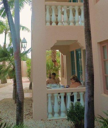 Caribbean Palm Village Resort: Our patio.