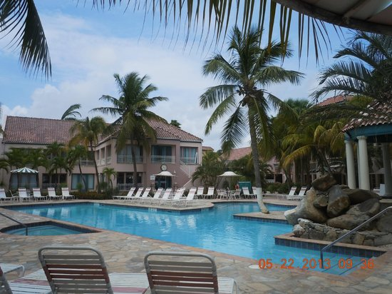 Caribbean Palm Village Resort: The pools are salt water!!