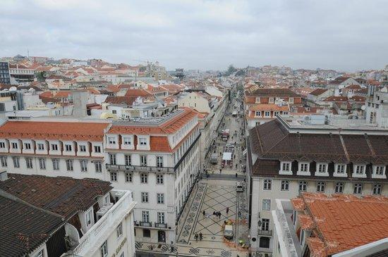 Tivoli Lisboa: Vista da R Augusta