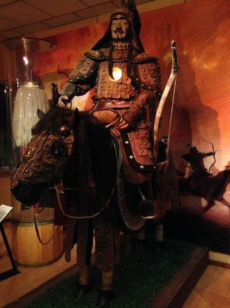 National History Museum: A mongol warrior