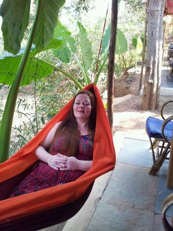 Secret Garden Resort: On our balcony