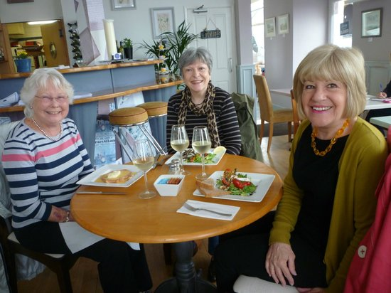 The Bay Bistro & Cafe: A delicious lunch!
