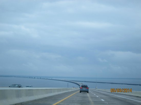 Sunshine Skyway Bridge: view