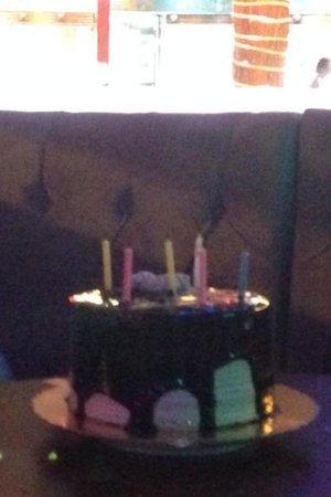 Murphy's Restaurant & Bar: My birthday cake they got me x