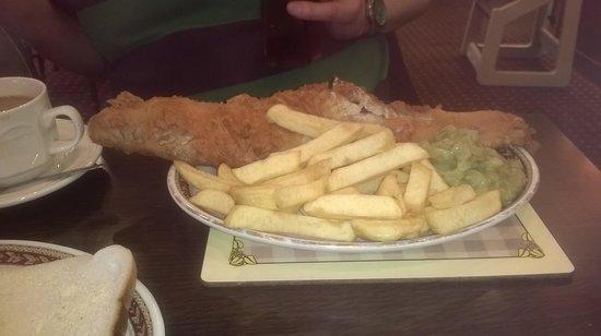 Bispham Kitchen: What a fish!!