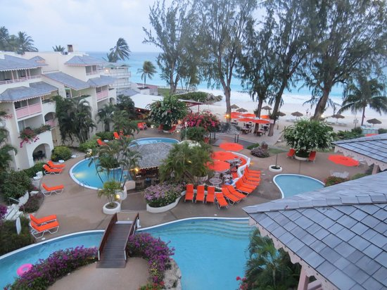 Bougainvillea Barbados: View from room 5417 (deluxe one bedroom suite)
