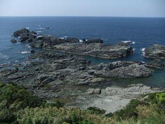 Shiono Cape Lighthouse : 太平洋!