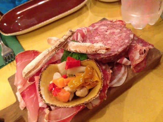 La Cantinetta Osteria con Cucina: Tagliere