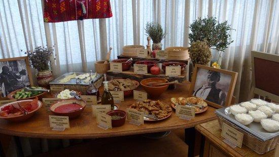 Marin Dream Hotel : cretan breakfast